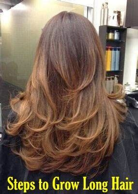 how to grow out layers fast to grow long hair fast it is not enough to have regular