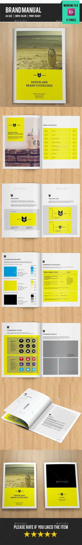 brochure layout design rules 25 best brand manual ideas on pinterest brand book