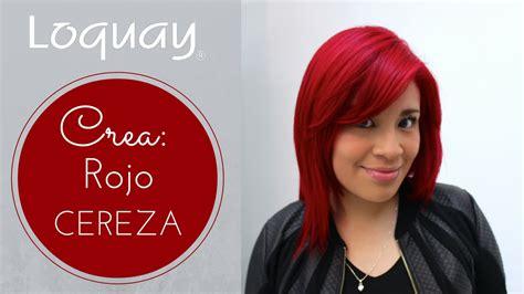 imagenes de tintes rojos fuertes cabello rojo cereza paso a paso youtube
