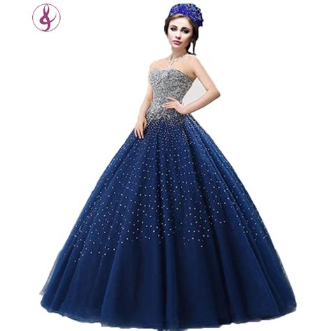 Wedding Dresses Designer Blue by Popular Royal Blue Wedding Gowns Buy Cheap Royal Blue