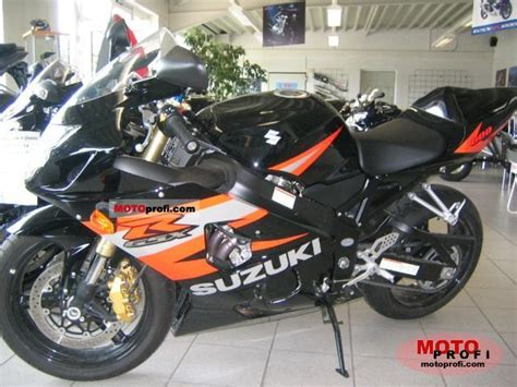 2005 Suzuki 600 Gsxr Suzuki Gsx R 600 2005 Specs And Photos