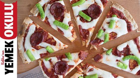 Pizza Evi by Sevgilisini Yemeğe 199 Ağıran 214 ğrenci Pizzası Tarifi