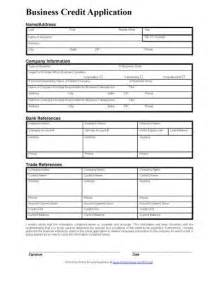 Business Credit Application Form Template A Standard Credit Application Form Gives You The General
