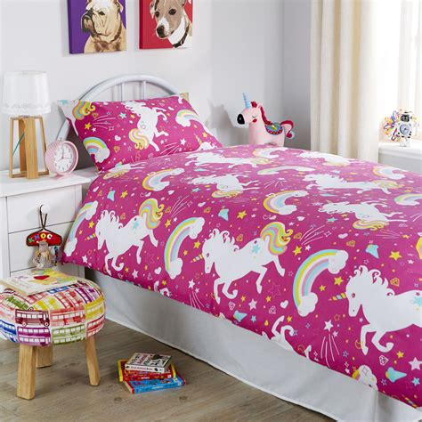 unicorn bedding unicorn duvet cover set girls quilt cover unicorn bedding