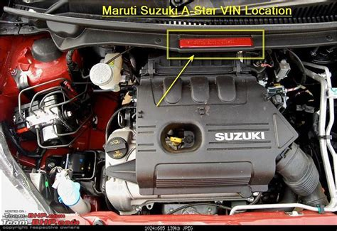 Karimun Estillo 2007 finding the vin manufacturing date year on indian cars page 63 team bhp