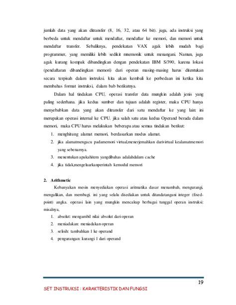 makalah format instruksi makalah set instruksi