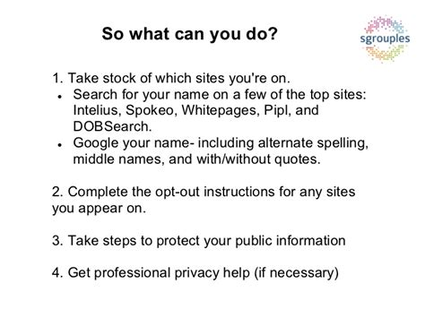 How To Do A Personal Background Check How To Delete Your Personal Information From Background Check Websit