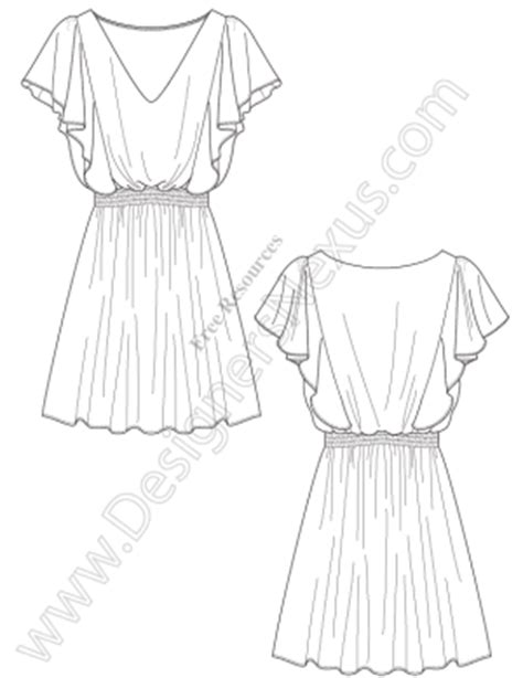 design a dress template free fashion templates fashion designer information
