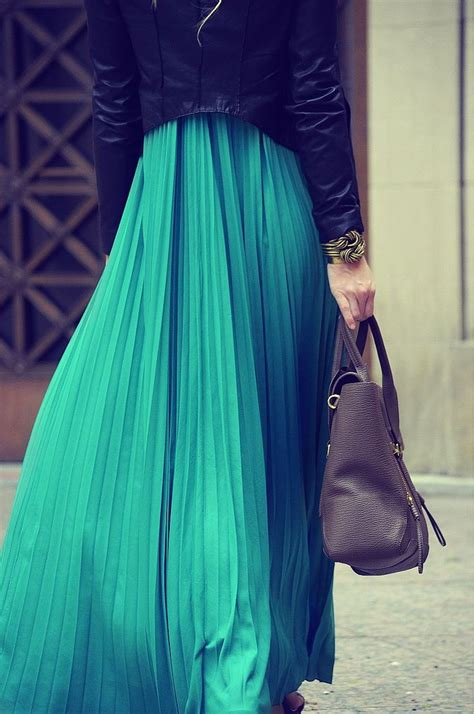 25 best ideas about turquoise maxi skirts on