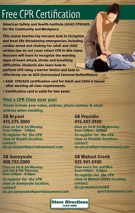free cpr classes yoga classes fitness classes biking