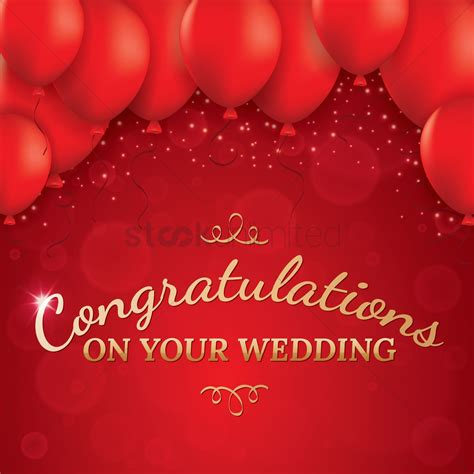 Wedding Greetings by Wedding Greeting Card Vector Image 1610022 Stockunlimited