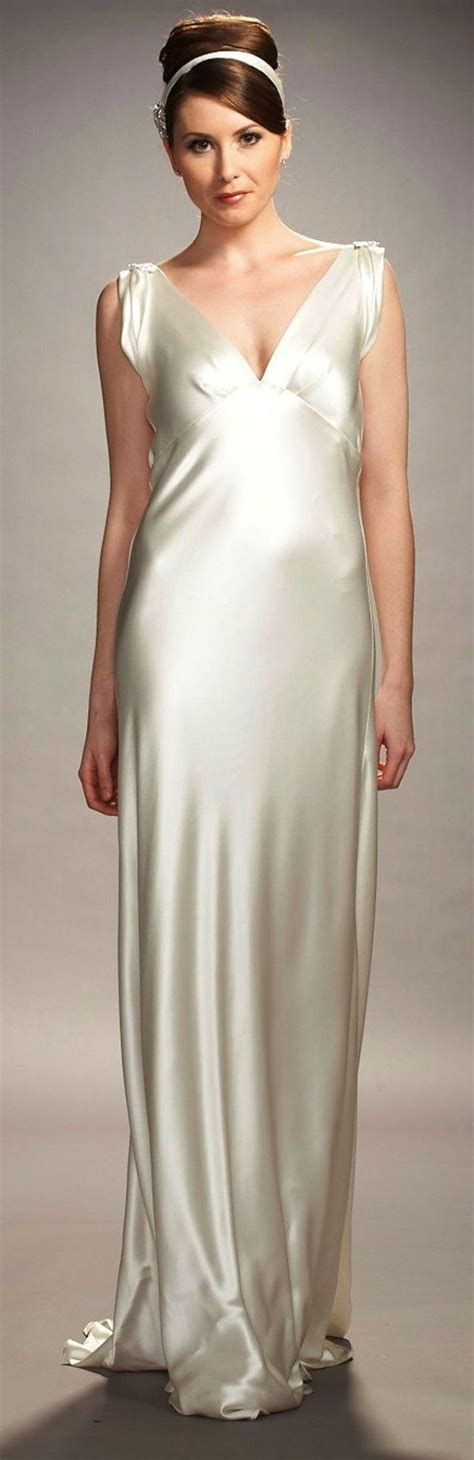 Satin Silk 05 sleek and liquid satin wedding dresses crazyforus