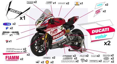 Ducati 1199 Sticker by Stickers Ducati Sbk 2014 959 1299 Panigale 2015 2018
