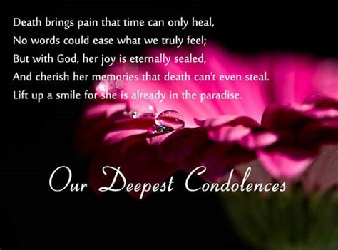Message For Comforting A Friend 31 Inspirational Sympathy Quotes For Loss With Images