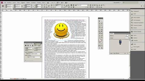 testo di immagine tutorial indesign contornare le immagini con il testo