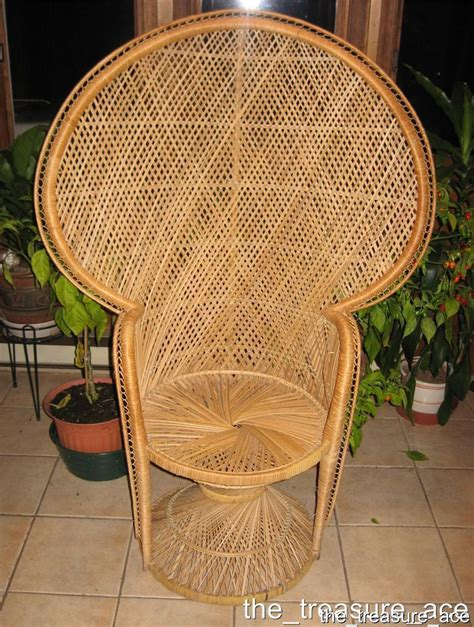 fan back wicker chair 4 wicker peacock fan back chair hollwood