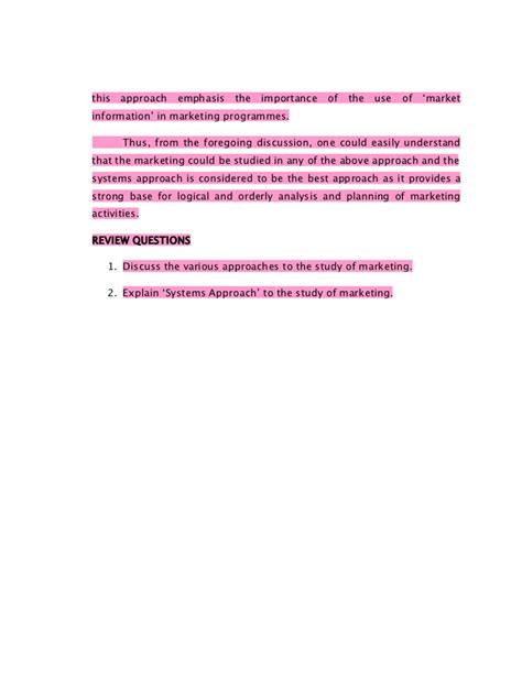 Distribution Management Notes For Mba by Marketing Management Notes Mba