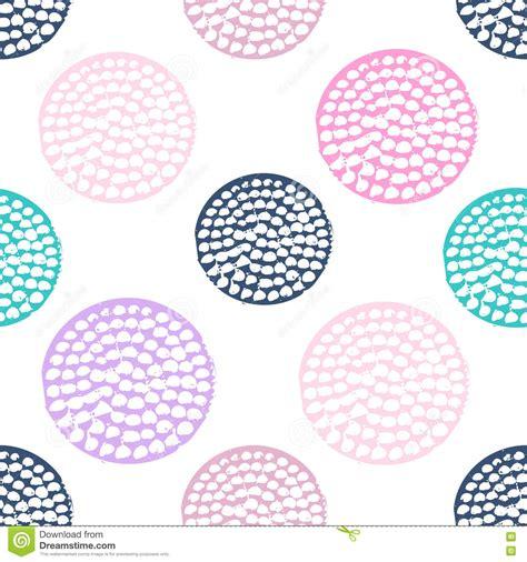 pattern circle pink colorful textured circle seamless pattern blue pink