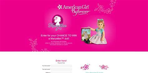 American Girl Doll Sweepstakes 2017 - americangirl com winmaryellen american girl maryellen doll sweepstakes