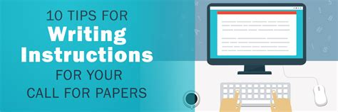 how to write call for papers 10 tips for writing for your call for papers
