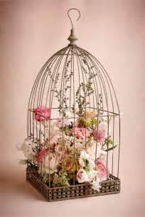 Cage Chandeliers La Cage 224 Oiseaux D 233 Corative Tendance Shabby Chic