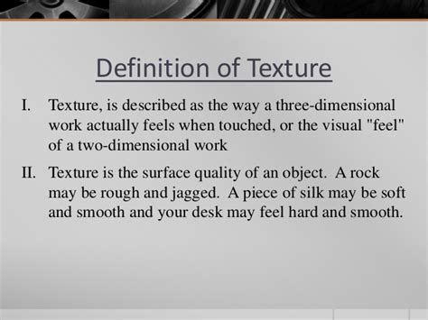 pattern and texture help define element of design texture