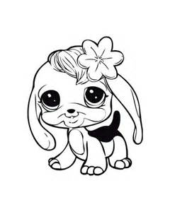 baby dog learn walk littlest pet shop coloring pages lps coloring pages