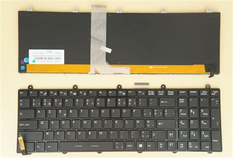 Keyboard Laptop Msi Cr460 b 224 n ph 237 m laptop msi