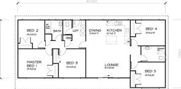 five bedroom home plans 5 bedroom transportable homes floor plans