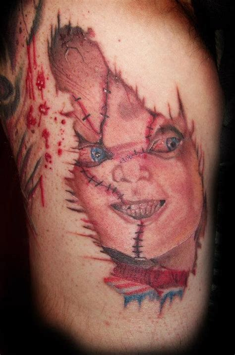 chucky tattoo which chucky do you like best poll results