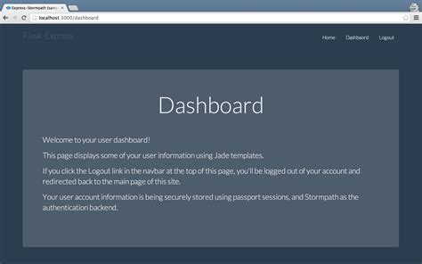 node js authentication tutorial build a simple app with node js express passport and