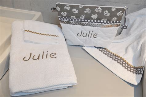 serviettes de toilette personnalis 195 169 es