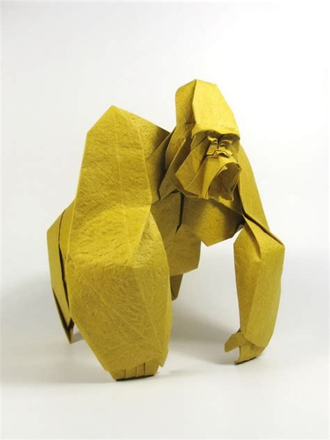 How To Make Origami Gorilla - diagram cp origami gorilla nhat s origami