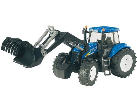 bruder farm toys bruder new holland tg 285 tractor with frontloader 03021