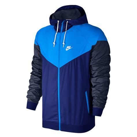 Jacket Nike nike windrunner s running jacket blue navy