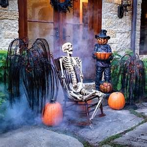 The domestic curator fun outdoor halloween decor