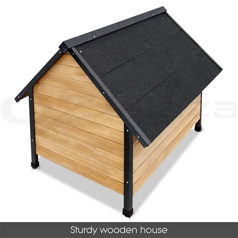 indoor dog house for large dogs dog kennel timber house extra large wooden pet log wood cabin indoor outdoor ebay