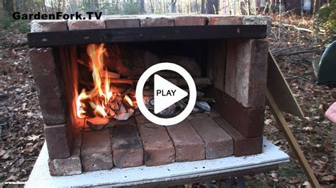 backyard brick oven plans brick pizza oven video plans gf tv gardenfork tv