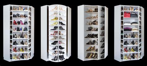 shoe closet closet works 360 organizer shoe spinner model rotating