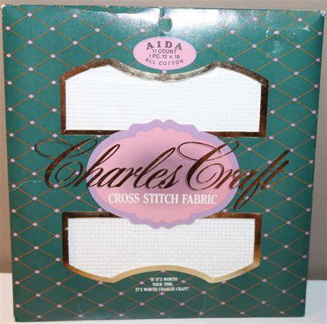 charles craft charles craft cross stitch fabric aida 11 count 12x18