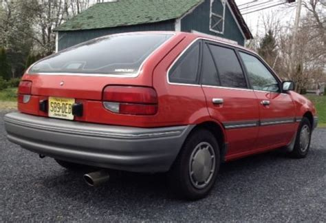 1988 mercury tracer go4carz com find used 1988 mercury tracer base hatchback 4 door 1 6l in wrightstown new jersey united states