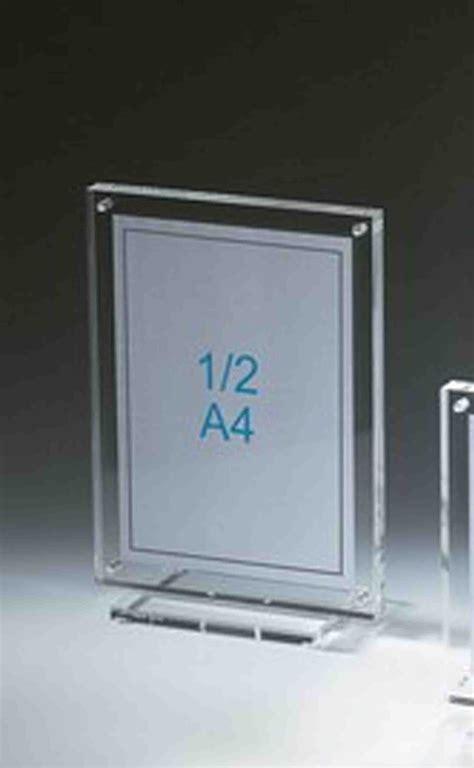 porte in plexiglass support plexiglas cadre porte dipl 212 me 1 2 a4 sur socle