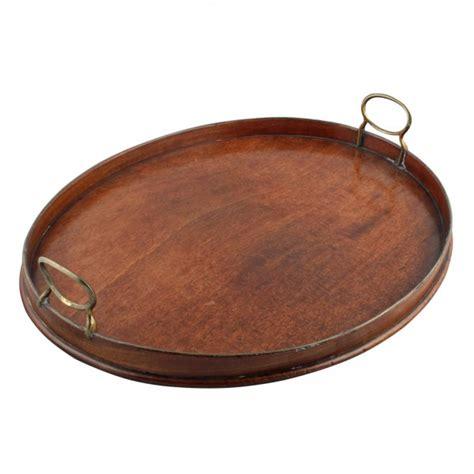 Oval Tray georgian mahogany tray antique oval serving tray