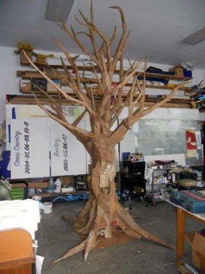 How To Make A Tree Out Of Construction Paper - quot cardboard tree quot search