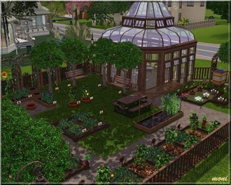 Sims 3 Garden Ideas Small Garden Community Lot By Moni At Arda Social Sims Sims Stuff Gardens