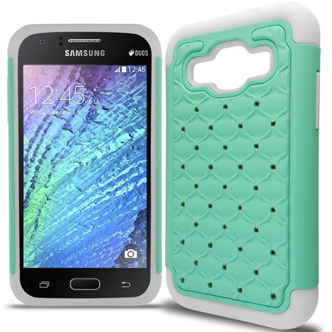 Army Samsung J1 2015 J100 Soft Slim Back Cover Spigen A bling hybrid phone cover for samsung galaxy j1 verizon j100 ebay