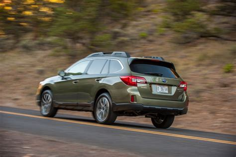 subaru outback 2016 green subaru adds to eyesight safety system in 2016 outback legacy