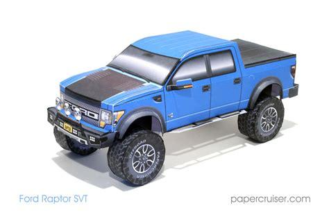 Ford Raptor Paper Model Paper Models Pinterest Ford Raptor Papercraft And Paper Toys Ford Raptor Template