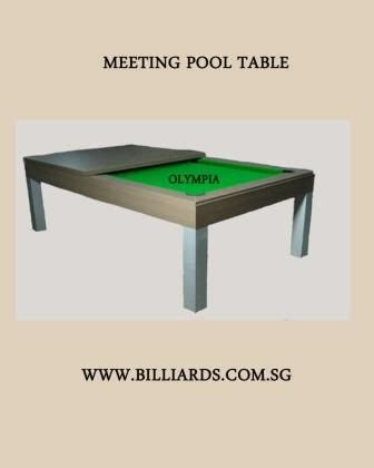 Pool Table Meeting Table Dinning Pool Table Conference Table For Sale In Singapore Adpost Classifieds Gt Singapore