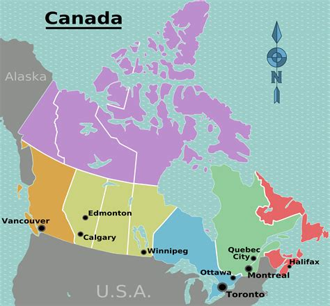 canada provinces map canada map showing provinces